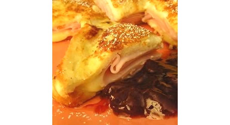 monte cristo sandwich - what to do with leftover turkey
