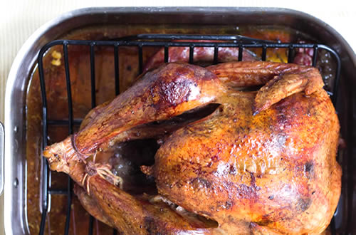 roasted turkey; how long to cook, and other tips