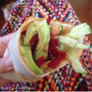 No-Cook-Lunches-veggies-in-deli-wrap