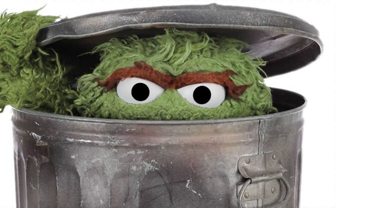 Oscar the Grouch - grumbling vs. gratitude