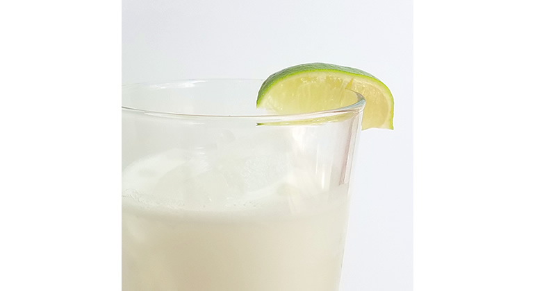 coconut lime cooler - paleo mocktail