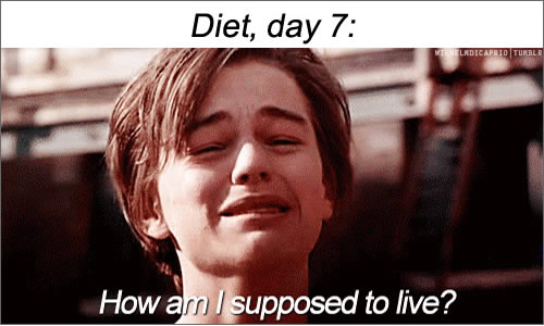 Diet, day 7; how am I supposed to live?