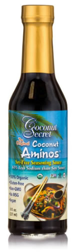 coconut aminos bottle