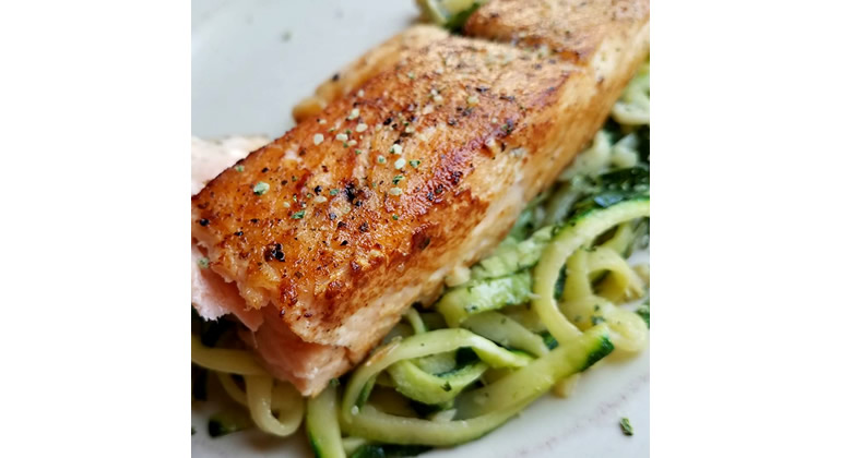 perfectly pan-seared salmon