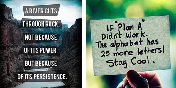 perseverence; persistence quotes