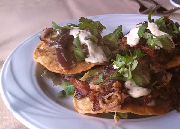 carnitas-tostadas-at-Iris