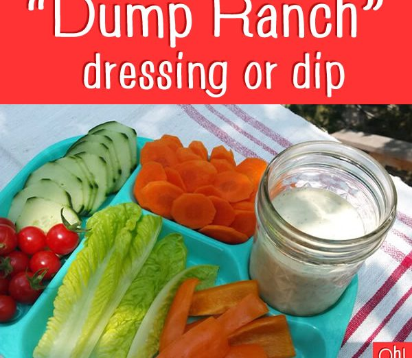 Dairy-free Ranch dressing - dump ranch