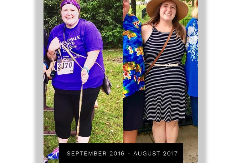 success story; Paleo Annie, before and after